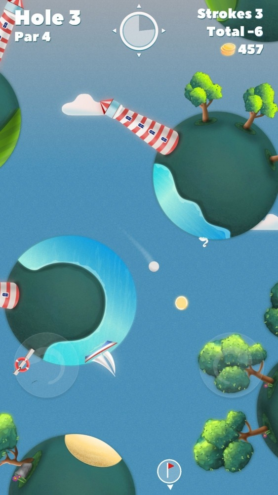 Golf Skies Android Game Image 4