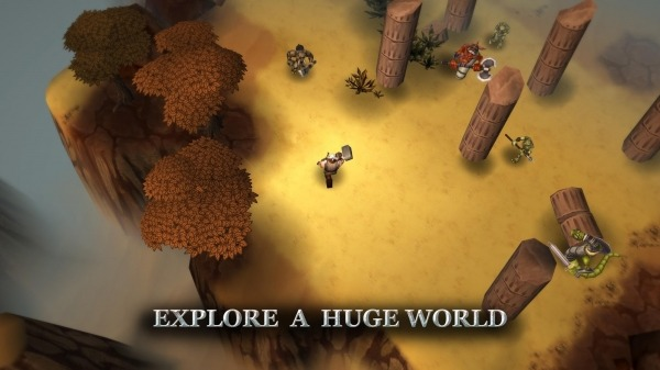 Runic Rampage - Hack And Slash RPG Android Game Image 2