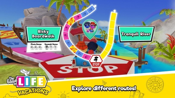 THE GAME OF LIFE Vacations Android Game Image 4