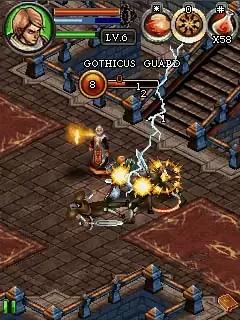 Dungeon Hunter 3 Java Game Image 2