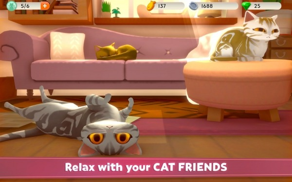 My Cat Club Android Game Image 4