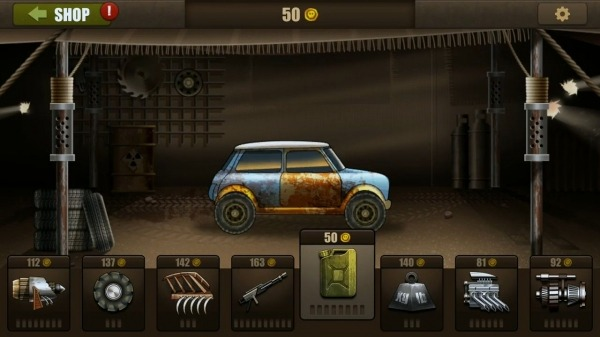 Zombie Hill Racing - Earn To Climb: Apocalypse Android Game Image 1