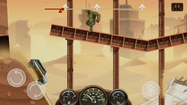 Zombie Hill Racing - Earn To Climb: Apocalypse Android Game Image 2