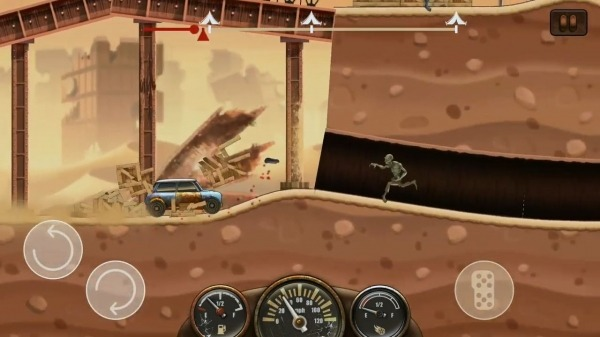 Zombie Hill Racing - Earn To Climb: Apocalypse Android Game Image 4