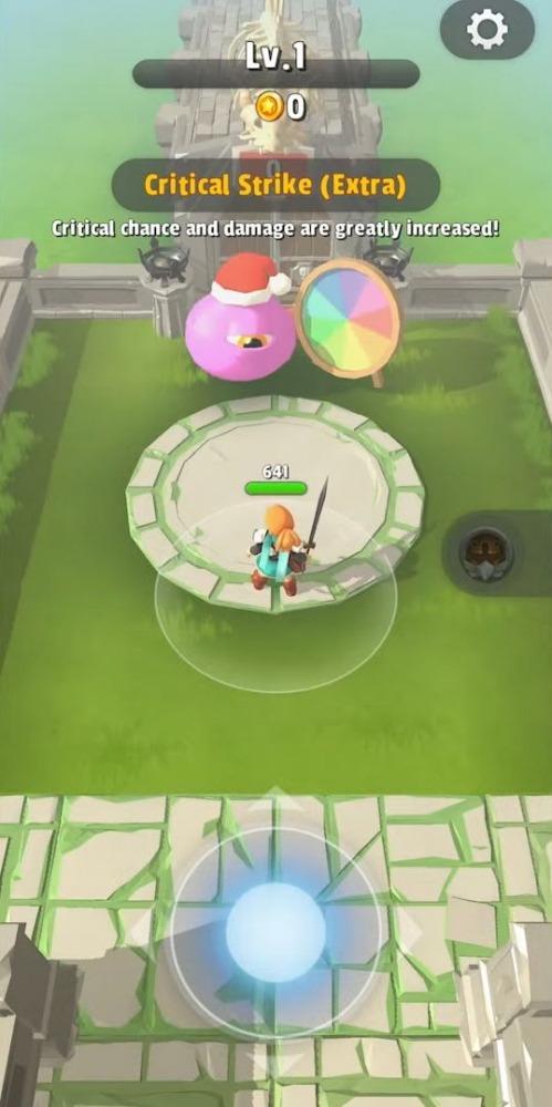 Dashero: Sword & Magic (Roguelite Offline) Android Game Image 1