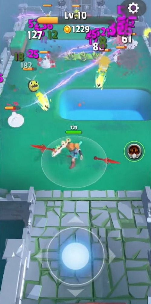 Dashero: Sword & Magic (Roguelite Offline) Android Game Image 3