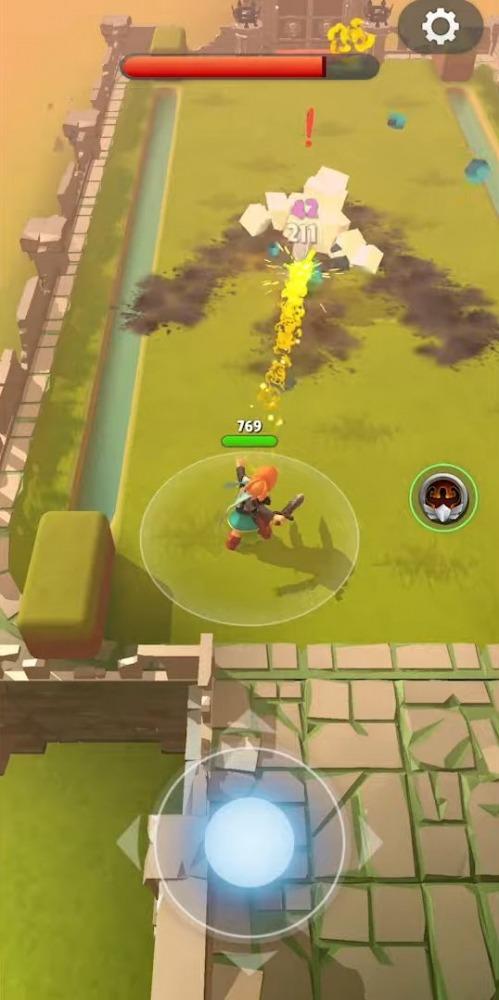 Dashero: Sword & Magic (Roguelite Offline) Android Game Image 4