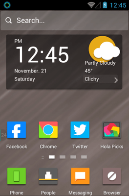 Guess The Icon Hola Launcher Android Theme Image 1