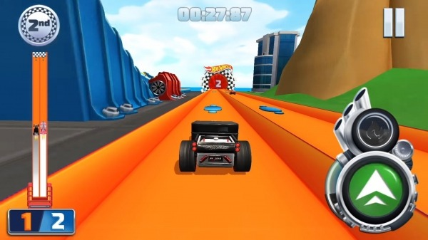 Hot Wheels Unlimited Android Game Image 1