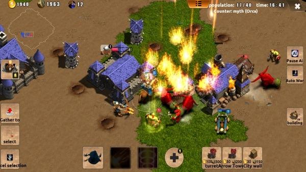 Magic War Android Game Image 1