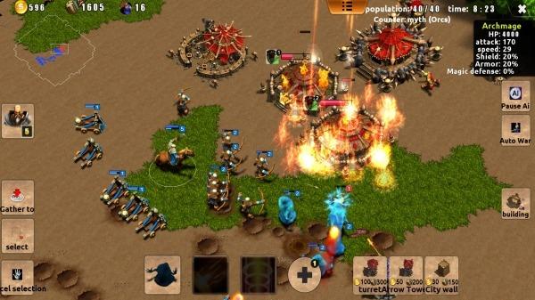 Magic War Android Game Image 2