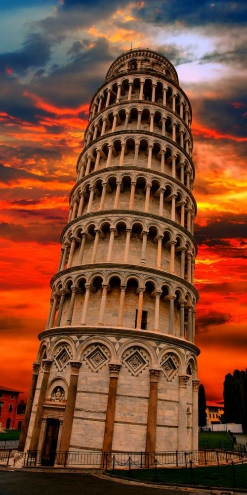 Tower Of Pisa Mobile Phone Wallpaper Image 1