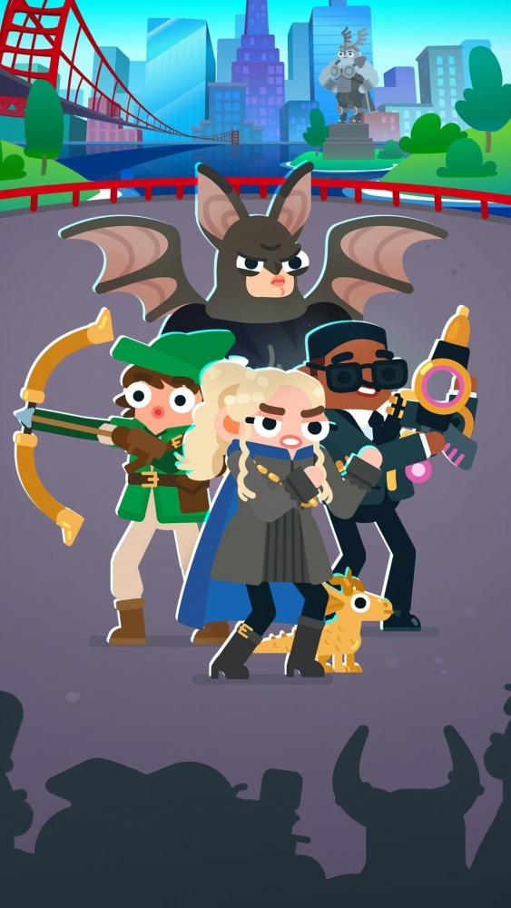 Heroes Battle: Auto-battler RPG Android Game Image 1