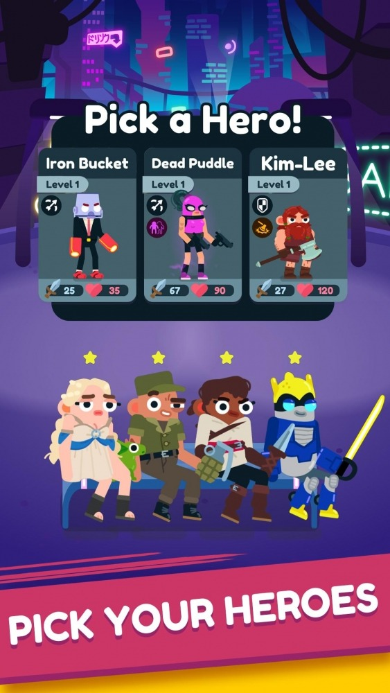 Heroes Battle: Auto-battler RPG Android Game Image 2