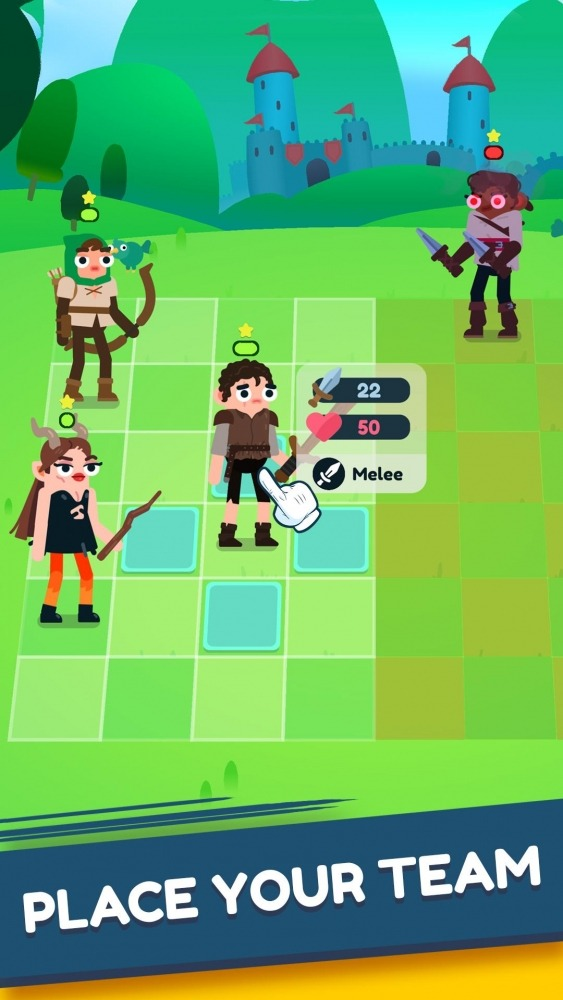 Heroes Battle: Auto-battler RPG Android Game Image 4