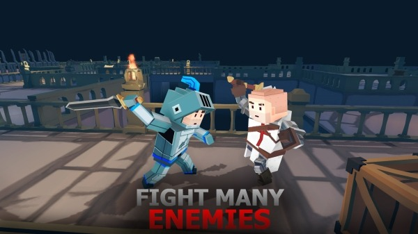 Battle Cube Dungeon Android Game Image 1