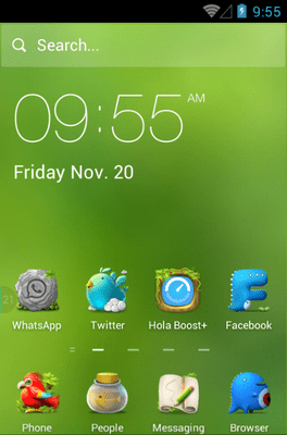 Dream Adventure Hola Launcher Android Theme Image 1