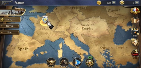 Grand War: Napoleon, War & Strategy Games Android Game Image 2