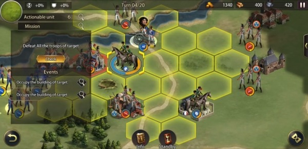 Grand War: Napoleon, War & Strategy Games Android Game Image 3