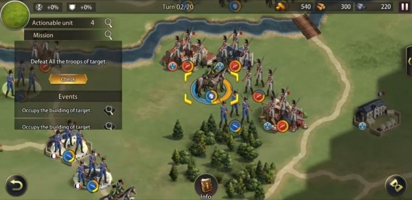Grand War: Napoleon, War & Strategy Games Android Game Image 4