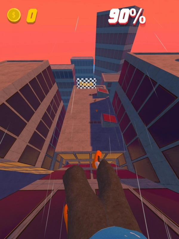 Rooftop Run Android Game Image 1