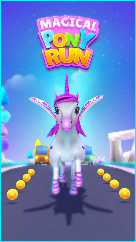 Magical Pony Run - Unicorn Runner Android Game Image 1