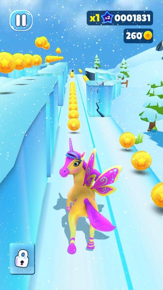 Magical Pony Run - Unicorn Runner Android Game Image 3