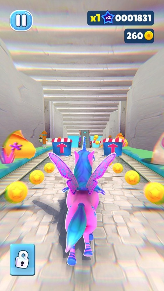 Magical Pony Run - Unicorn Runner Android Game Image 4