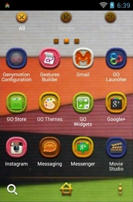 Fabric Go Launcher Android Theme Image 2