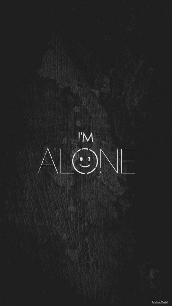 Alone Mobile Phone Wallpaper Image 1