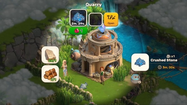 Atlantis Odyssey Android Game Image 1