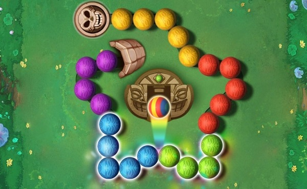 Marble Puzzle Shoot Android Game Image 1