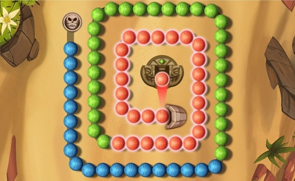 Marble Puzzle Shoot Android Game Image 2