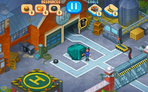 Rescue Team - Time Management Game Android Game Image 1