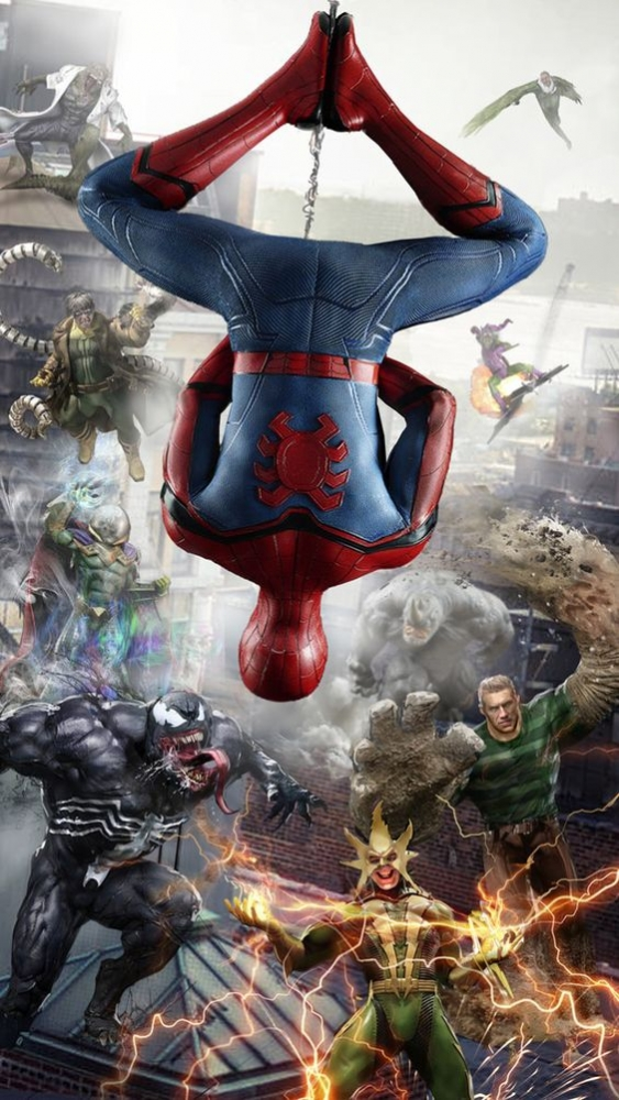 Spiderman Mobile Phone Wallpaper Image 1