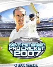 Kevin Pietersen Pro Cricket 2007 Java Game Image 1