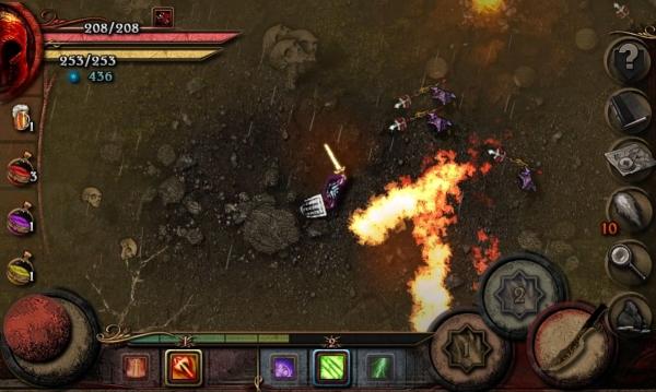Almora Darkosen RPG Android Game Image 2