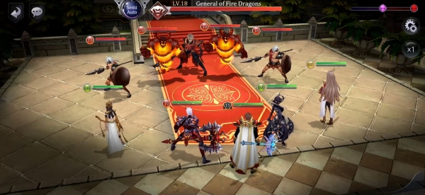 Summoners Glory: Eternal Fire Android Game Image 1