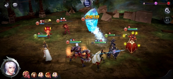Summoners Glory: Eternal Fire Android Game Image 4
