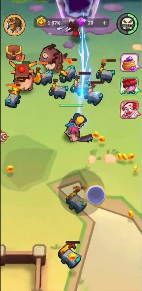 Super Brawl: Fantastic RPG Android Game Image 3