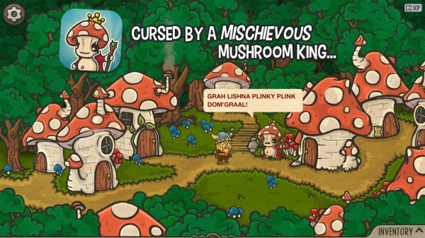 The Curse Of The Mushroom King Android Game Image 2
