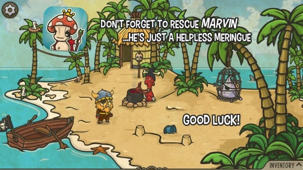 The Curse Of The Mushroom King Android Game Image 4