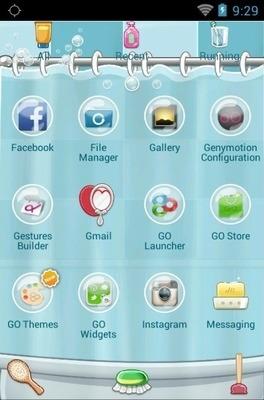 Baignez Go Launcher Android Theme Image 2