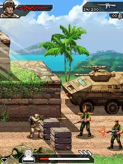 Modern Combat 2: Black Pegasus Java Game Image 2