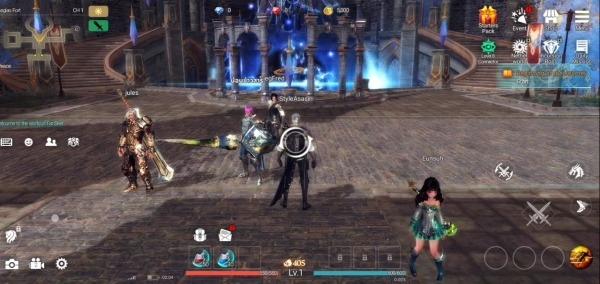 GIGA Dragon War Android Game Image 1