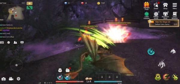 GIGA Dragon War Android Game Image 4