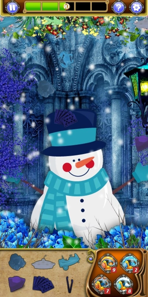 Hidden Object - Winter Wonderland Android Game Image 1