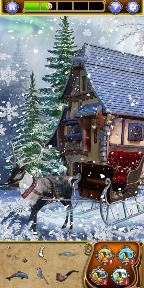 Hidden Object - Winter Wonderland Android Game Image 4