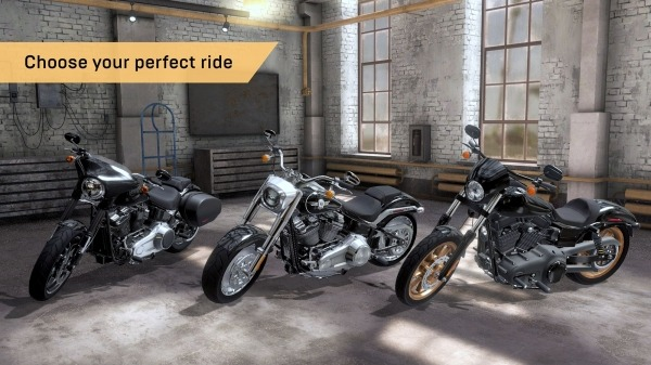 Outlaw Riders: War Of Bikers Android Game Image 1