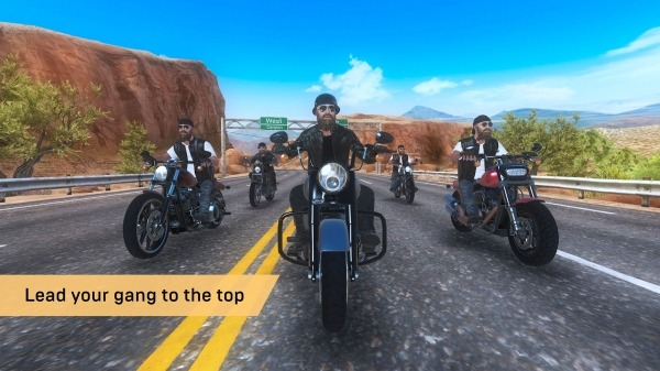 Outlaw Riders: War Of Bikers Android Game Image 2